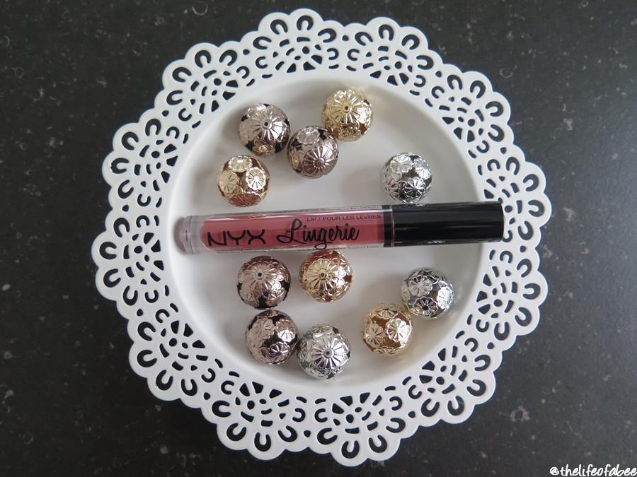 nyx lip lingerie exotic