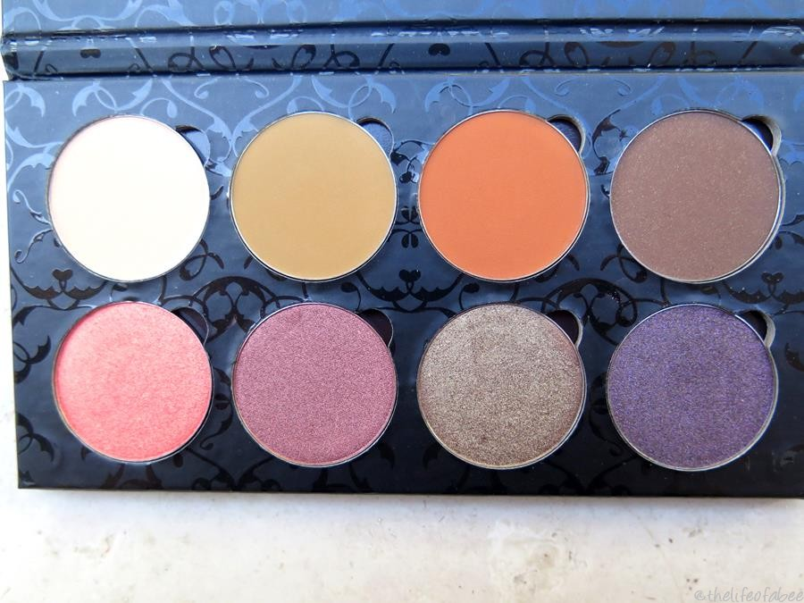 vintage palette makeup addiction cosmetics
