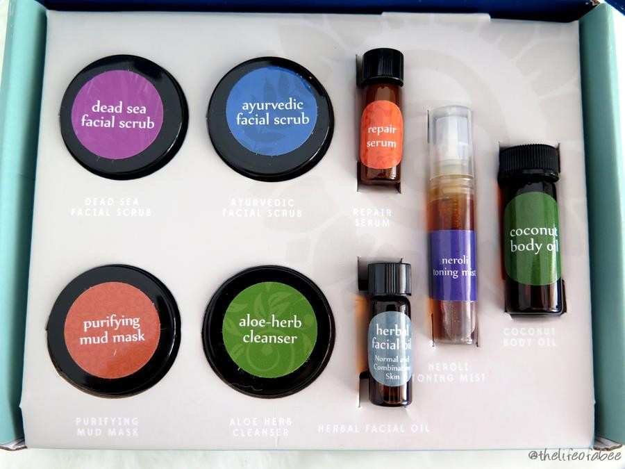 Annmarie Skin Care the Getaway sample kit