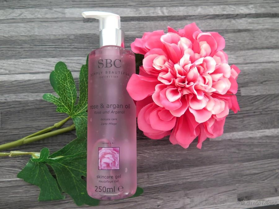 recensione sbc skincare gel rose&argan oil