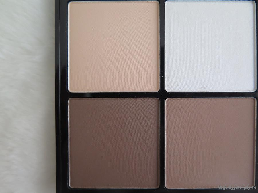 recensione swatches makeup revolution Ultra Pro Hd Powder Contour Palette