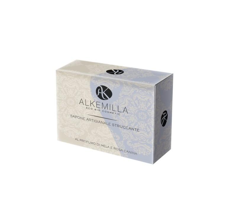 alkemilla-sapone-artigianale-bio-struccante-mela-e-rosa-canina