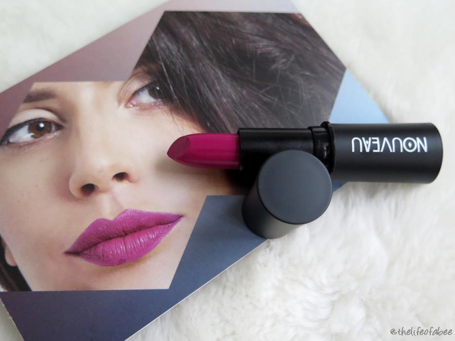 recensione rossetti nouveau cosmetics swatch orchid