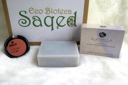 recensione bioprofumeria saqed eco-bioteca