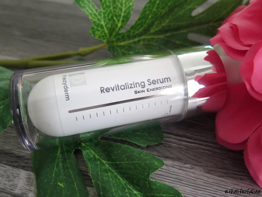 recensione revitalizing serum frezyderm