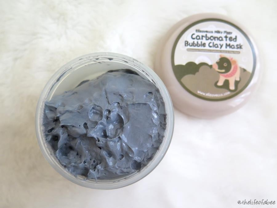 recensione Carbonated Bubble Clay Mask Elizavecca