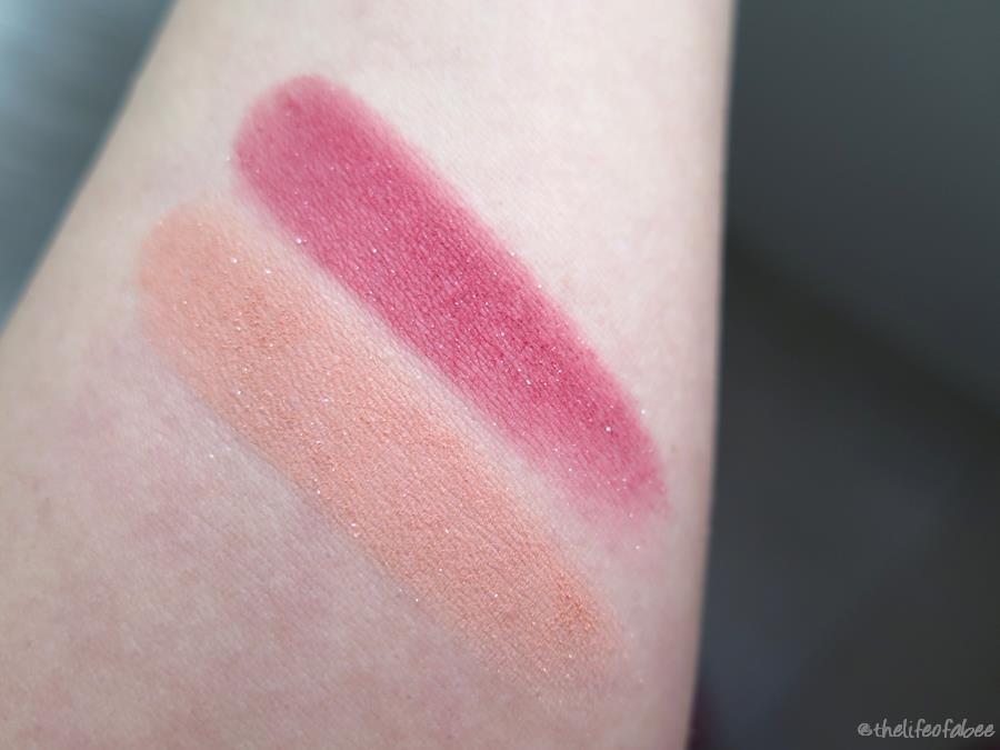 lakshmi recensione swatch blush fresh peach