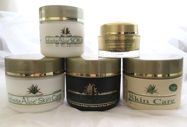 Recensione infinite aloe skin care scrub gold