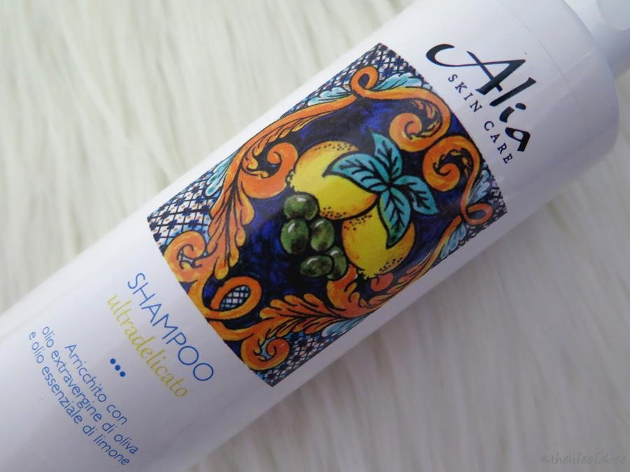 alia skincare recensione shampoo ultradlicato
