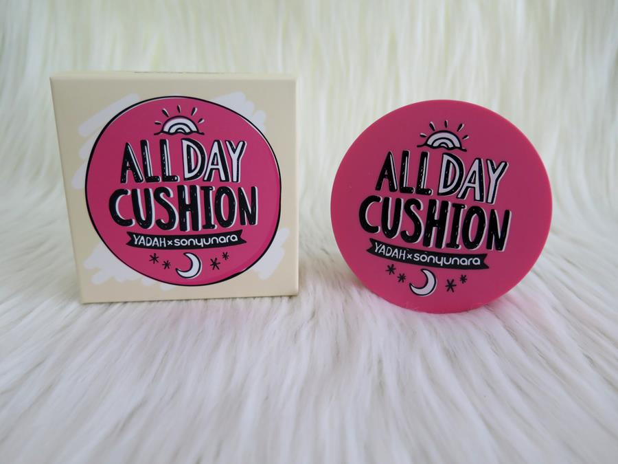 Yadah All Day Cushion recensione swatch