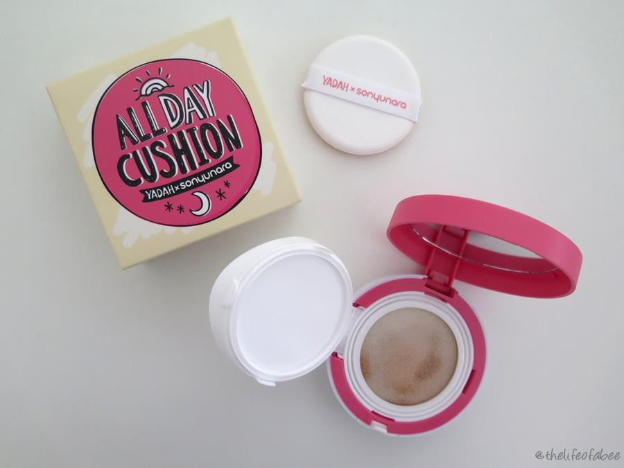 Yadah All Day Cushion recensione swatch natural beige