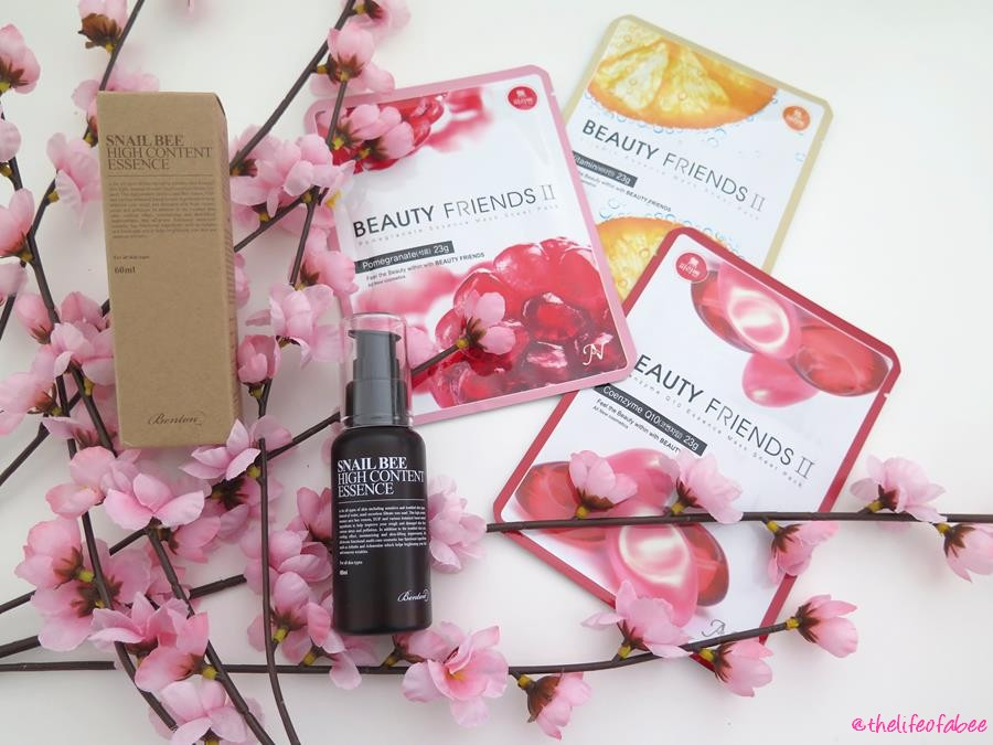 mybeautyroutine recensione essence benton maschere my beauty friends