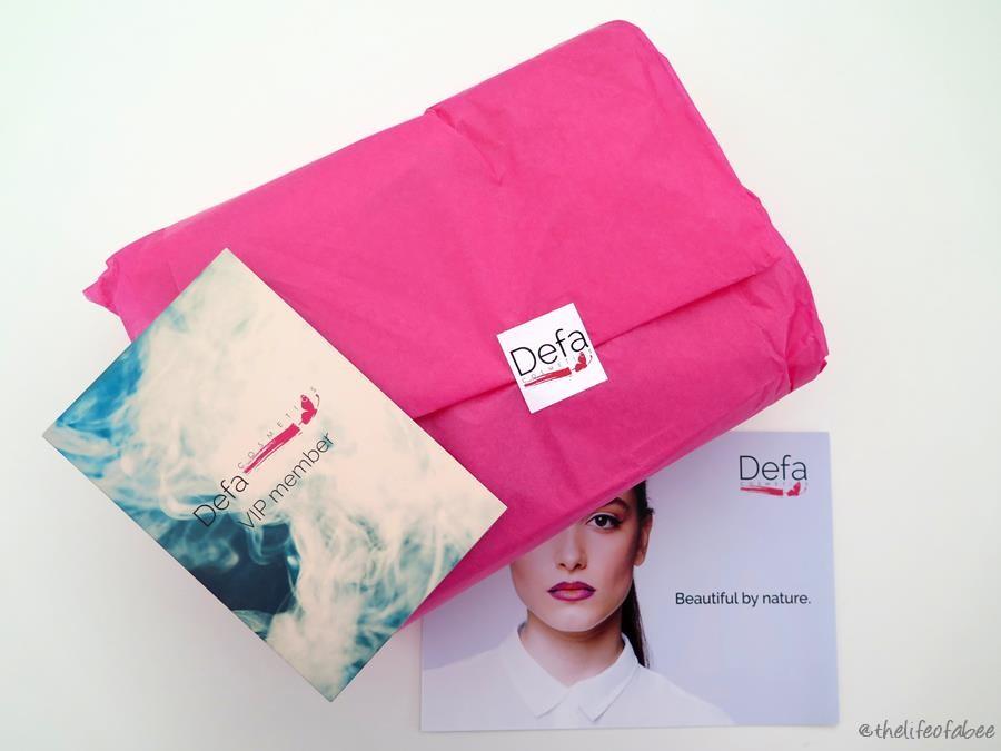 Defa Cosmetics recensione swatches