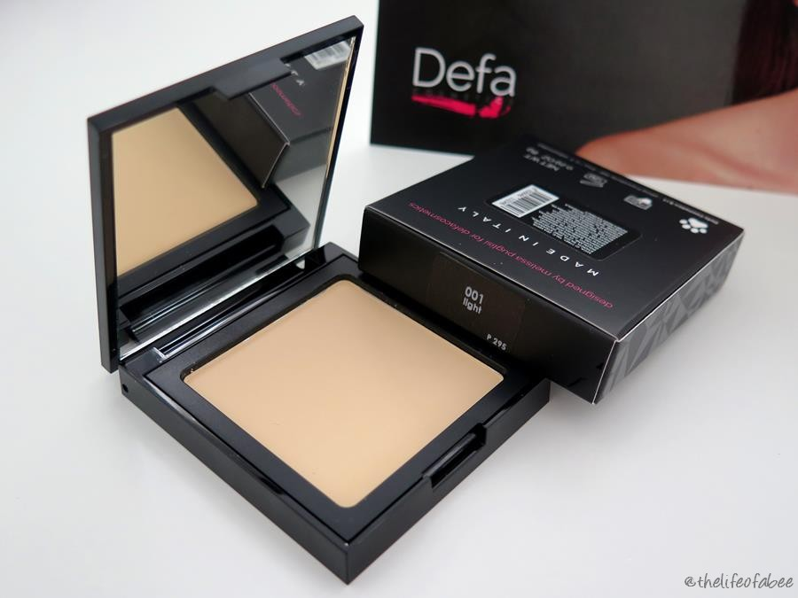Defa Cosmetics recensione swatches silky matt foundation light