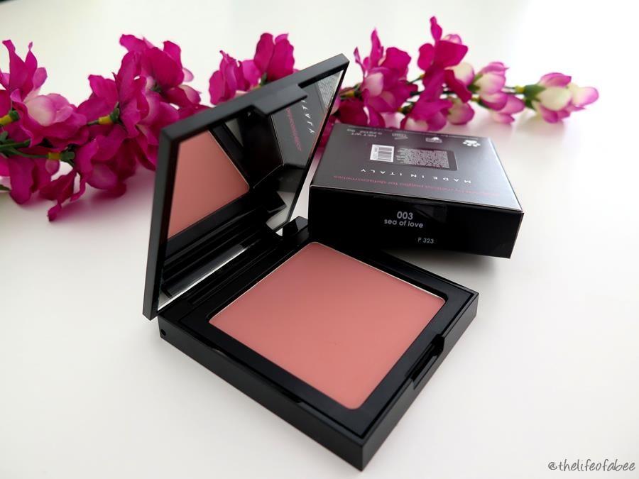 Defa Cosmetics recensione swatches blush sea of love