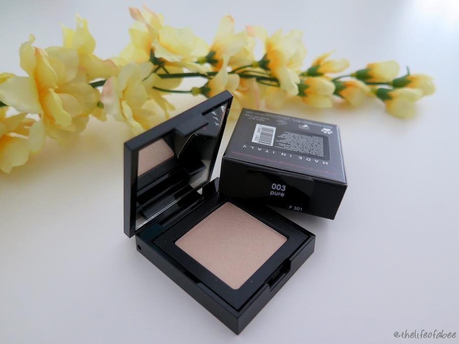 Defa Cosmetics recensione swatches ombretti pure