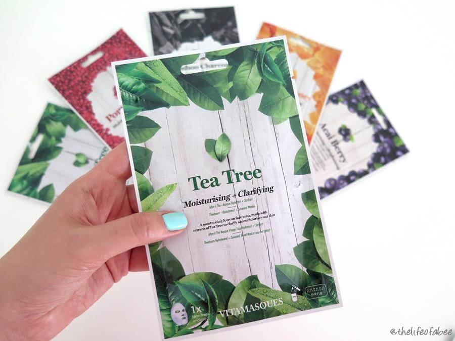 vitamasques review recensione tea tree mask