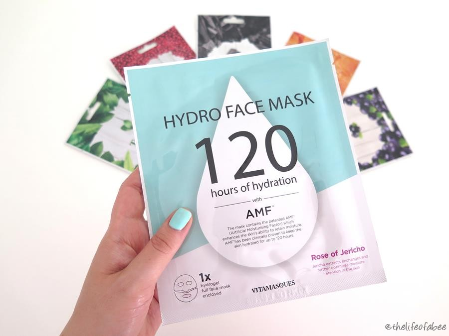 vitamasques review recensione hydro face mask rose of jerico