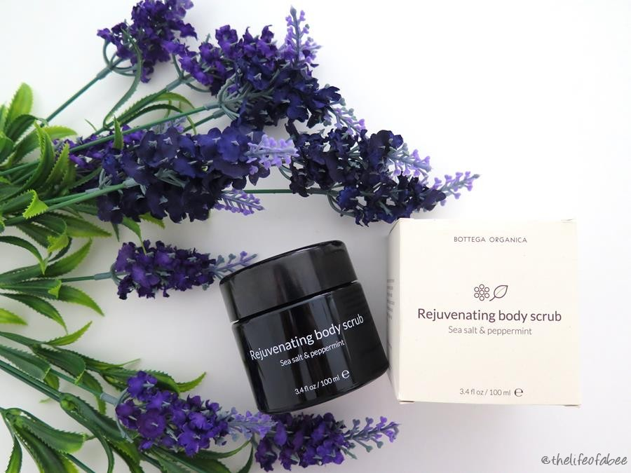 bottega organica recensione review rejuvenating body scrub