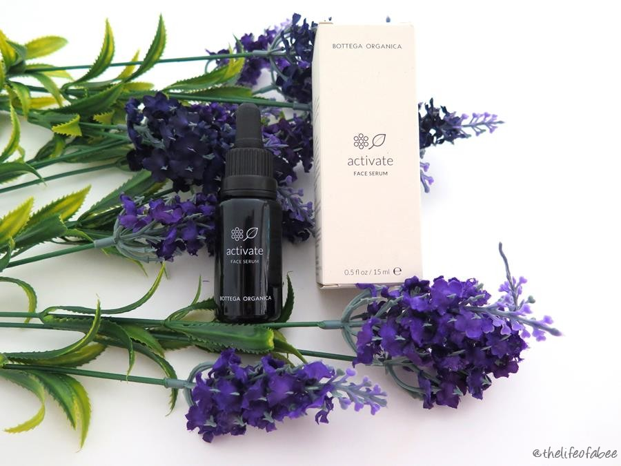 bottega organica recensione activate face serum review