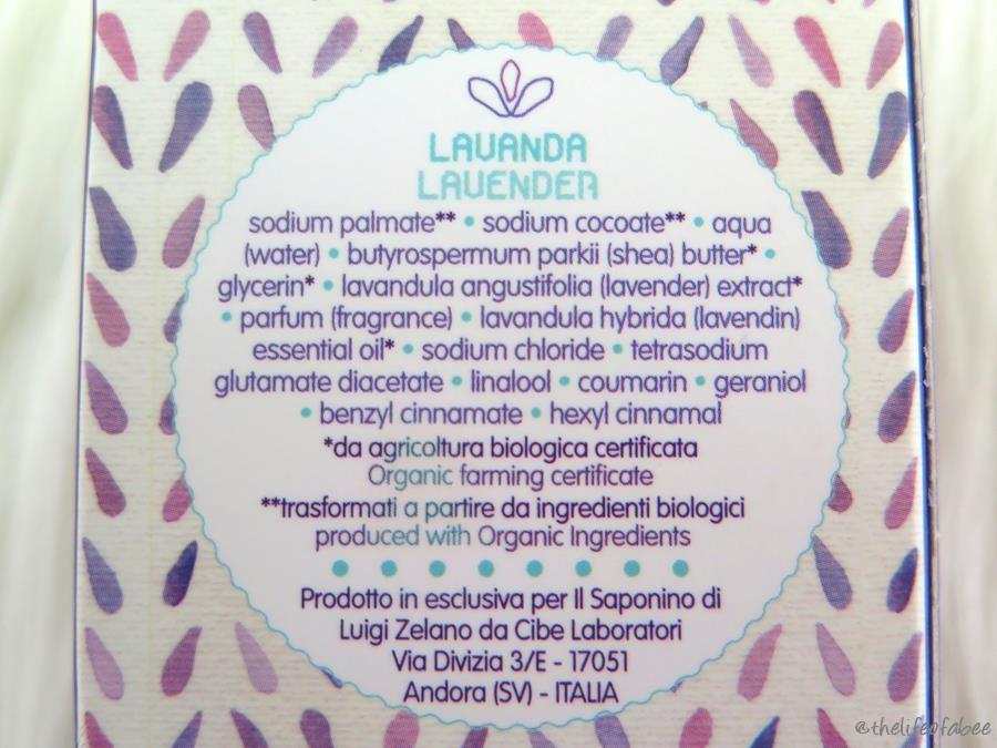 Hand il saponino recensione review sapone alla lavanda