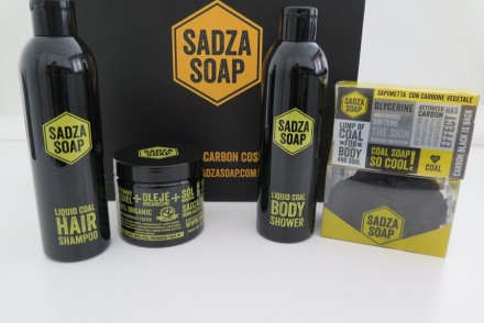sadza soap recensione review carbone attivo