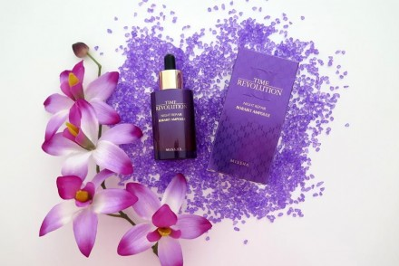 Time Revolution Night Repair Ampoule Missha review recensione