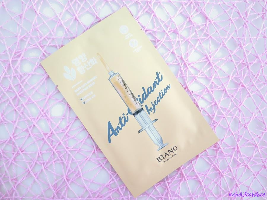bano antioxidant injection maskbeautytude boutique recensione review