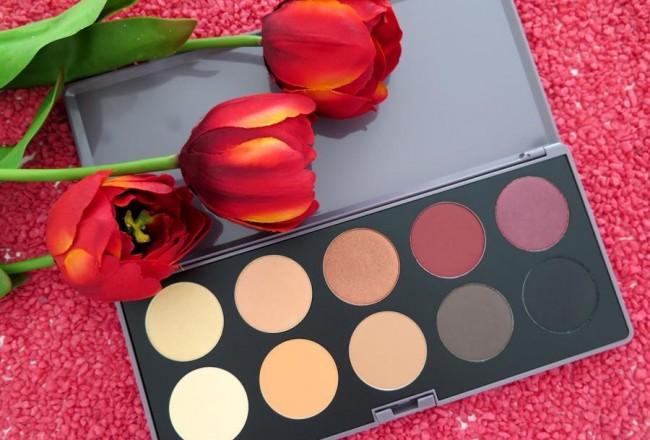 amber wonderland neve cosmetics swatch review