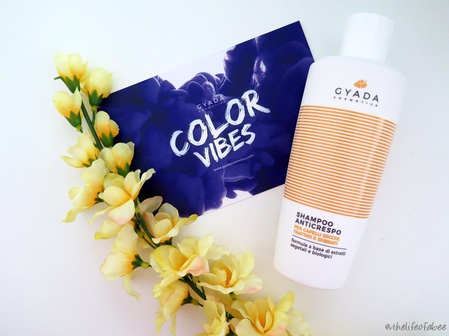 color vibes gyada cosmetics recensione review shampoo anticrespo