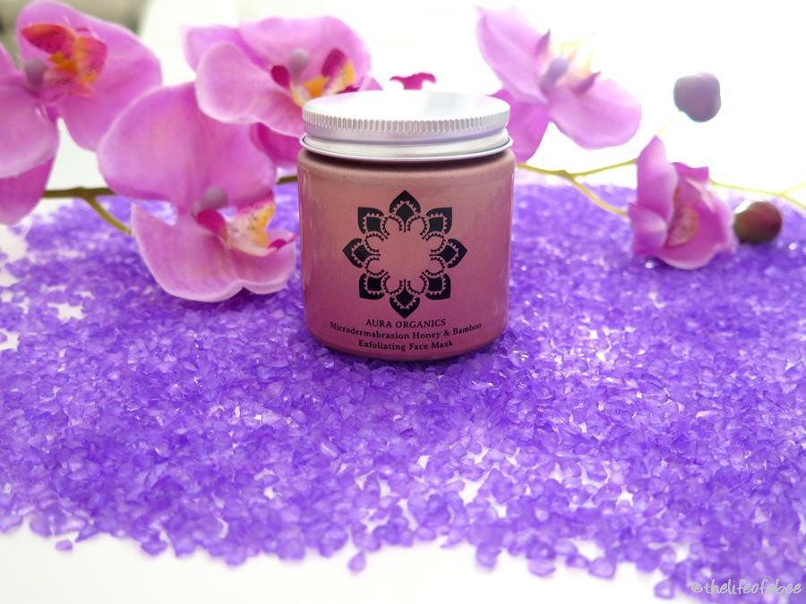 aura organics recensione review tropical honey mask