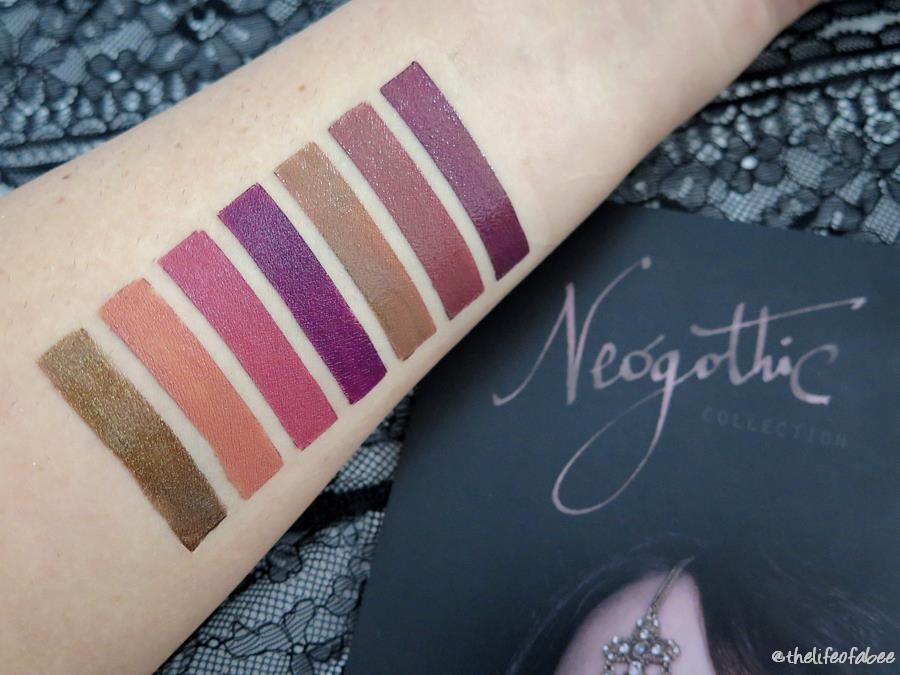 neogothic collection pastello labbra swatch