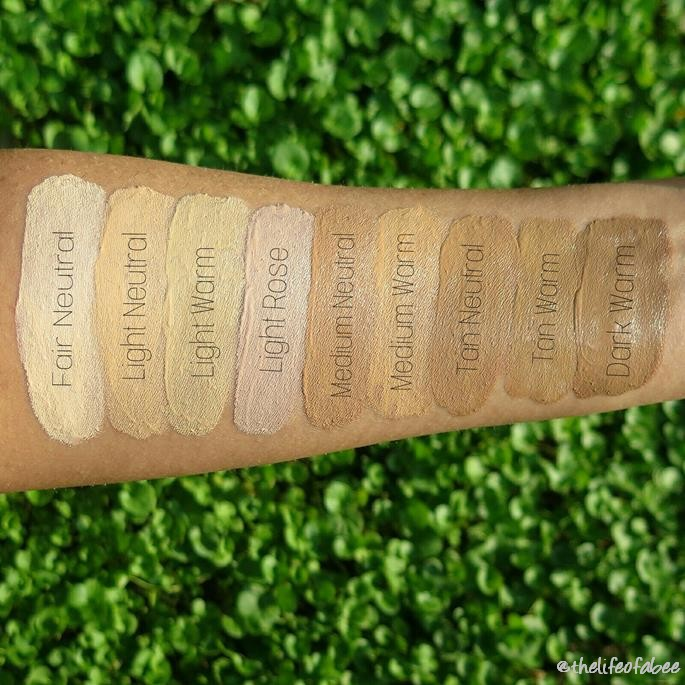 Creamy Comfort Foundation neve cosmetics recensione review swatch