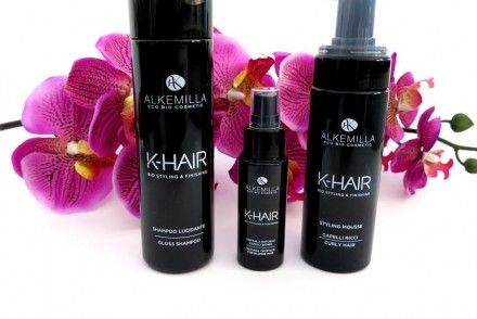recensione linea k-hair alkemilla review