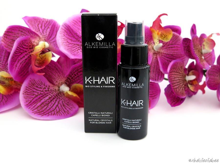 recensione cristalli liquidi linea k-hair alkemilla review