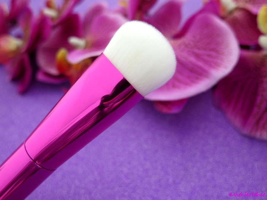 recensione review azalea merge brushes neve cosmetics