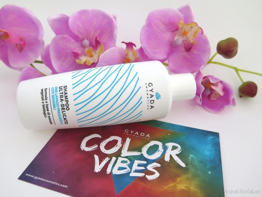 gyada cosmetics color vibes recensione review shampoo ultradelicato