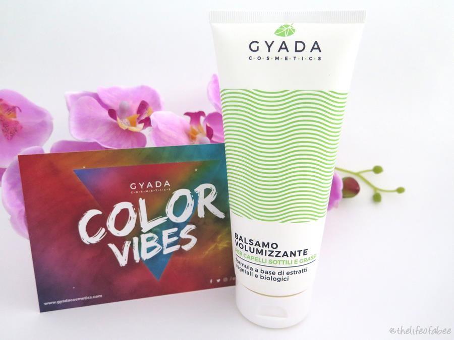 gyada cosmetics color vibes recensione review balsamo volumizzante
