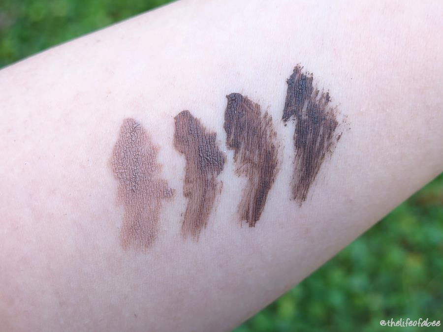 brow model neve cosmetics recensione review swatch swatches