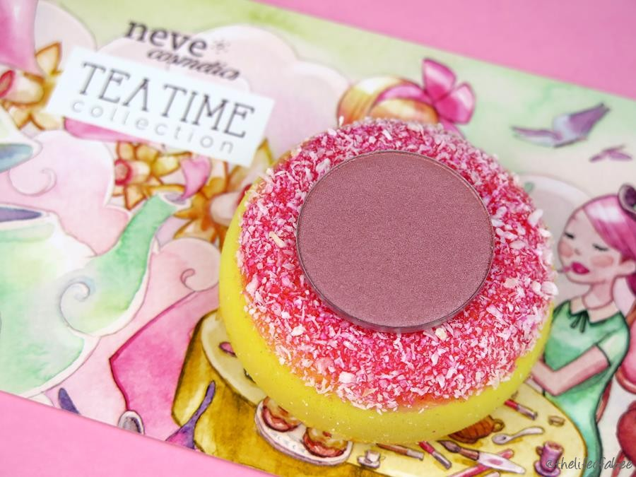 recensione swatch tea time neve cosmetics white tea blush