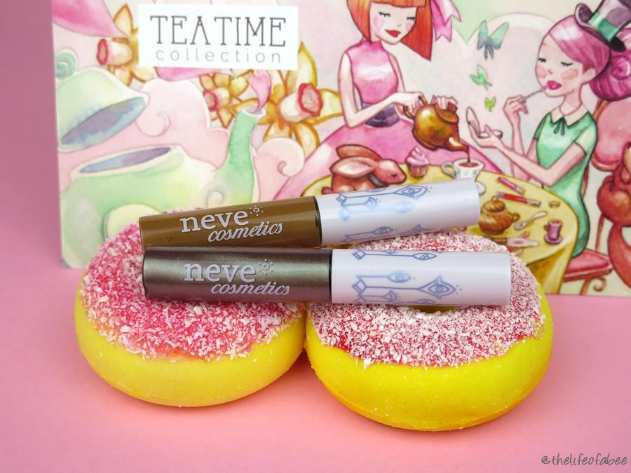 recensione swatch tea time neve cosmetics inkme