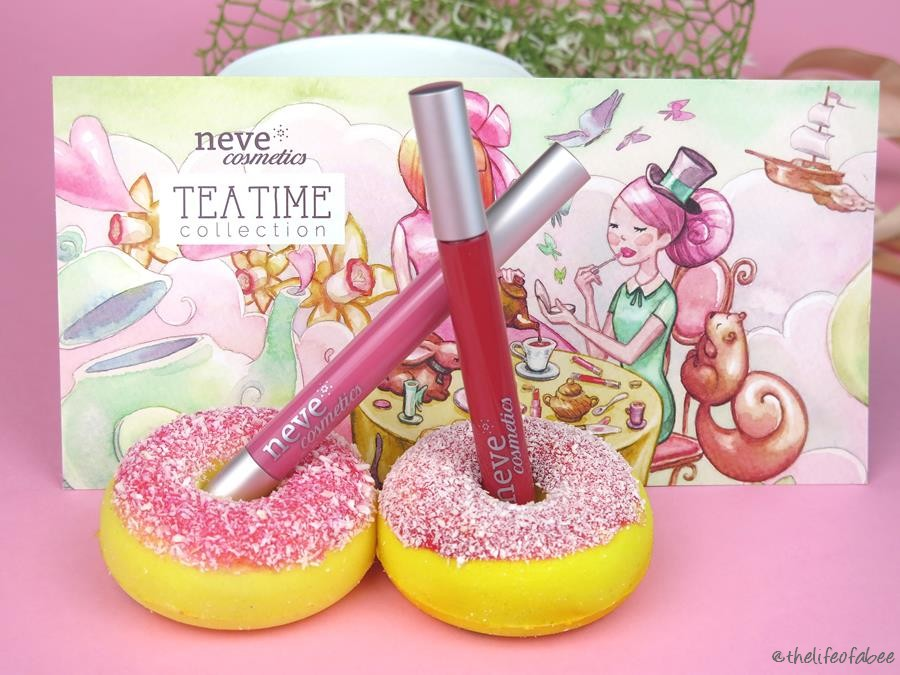 recensione swatch tea time neve cosmetics