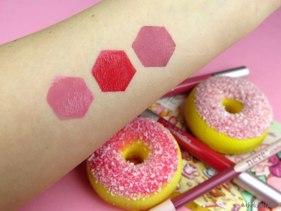 recensione swatch tea time neve cosmetics cloud, mad tea party, down the rabbit hole
