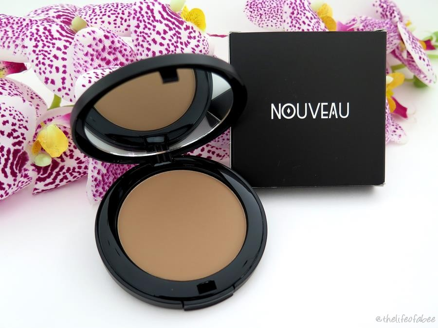 review swatches nouveau cosmetics terra bronzer medium warm
