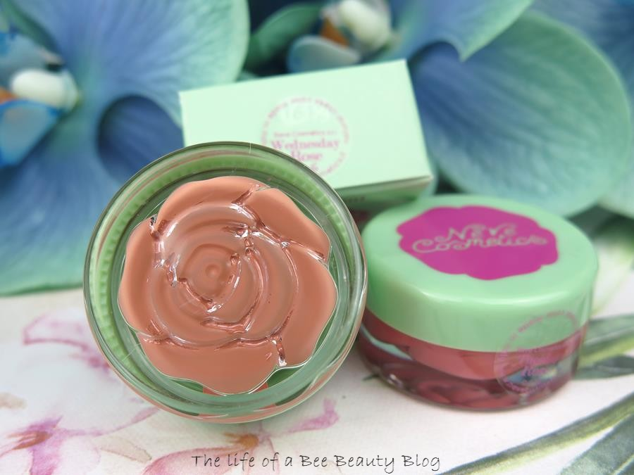 Blush Garden Neve Cosmetics recensione swatches Wednesday rose