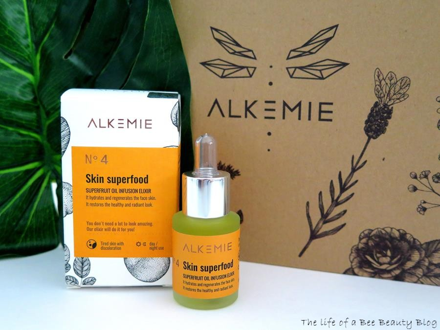alkemie recensione review skin superfood elisir