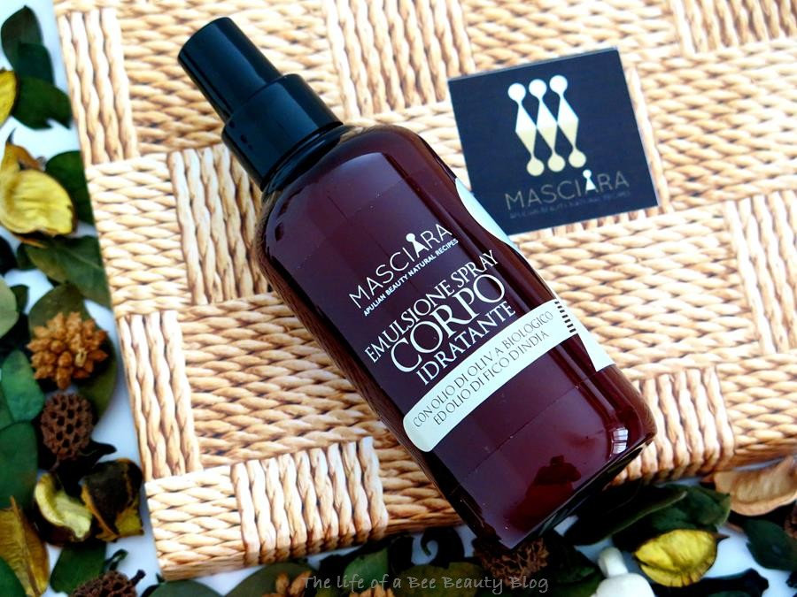 recensione emulsione corpo spray masciara apulian beauty