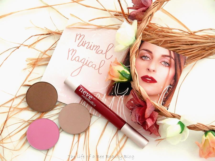 Recensione swatch Minimal Magical neve cosmetics