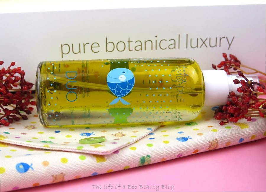 recensione linea baby ambaduè duo water & oil