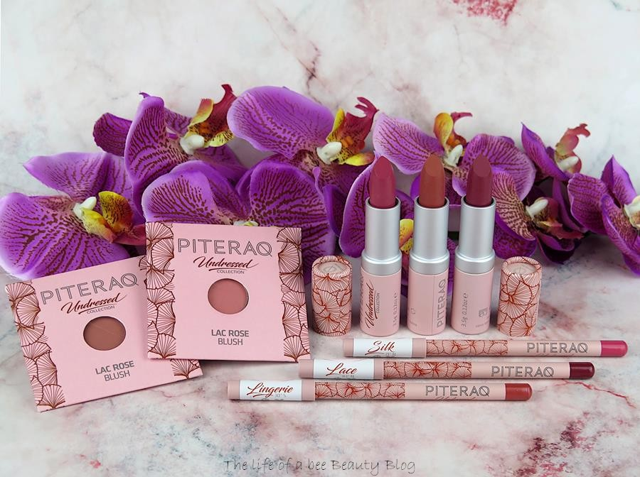 undressed collection piteraq cosmetics review swatches